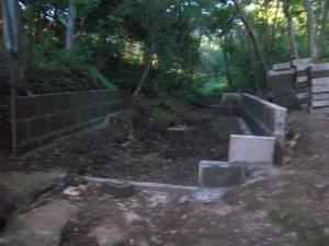 Cistern at Jacinto's farm