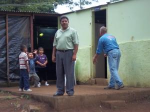 Pastor Overlooking children