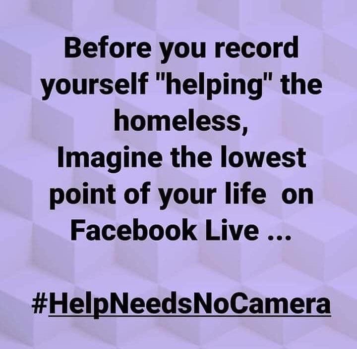 help needs no cameras